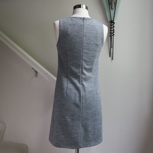 Kensie Dresses - Kensie Grey Wool Blend Knit Swing Dress